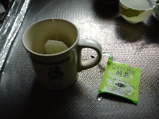 ある朝の飲み物