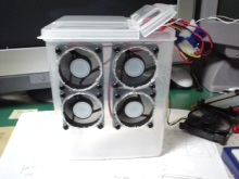 PCファンを利用したポータブル(?)換気扇の試作その2
