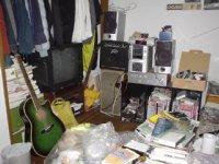 部屋の掃除をしていたら