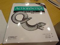 オライリーによるFlash本というかアクションスクリプト本~5600円