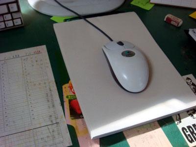 無印良品のらくがき帳をマウスパッド兼メモ帳として使うライフハック